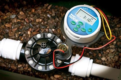 Bộ điều khiển tưới nước, thiết bị hẹn giờ điều khiển van tưới cây,hệ thống tưới cây hẹn giờ